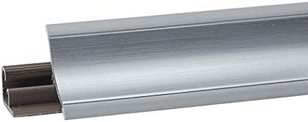 HOLZBRINK Innenecke passend zum Dekor Ihrer Abschlussleisten Alu Satin Innenkante PVC K/üchenabschlussleiste 23x23 mm