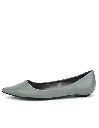 Pointue Cendriyon Chaussures GIRLA Ballerine Femme Grise HwFqSP