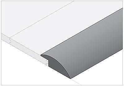 """Moldings Online 2008178095 78"""" x 1.5"""" x 0.61"""" Natural Semi-Gloss White Oak Reducer Overlap"""
