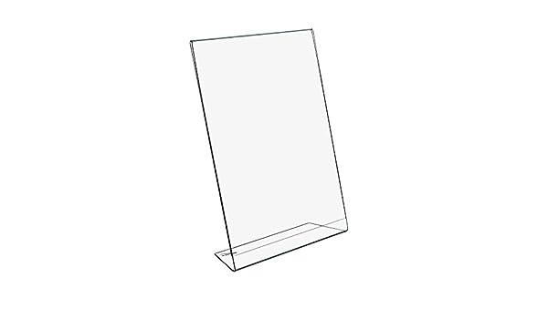 12 pieza DIN A4 L Soporte de/expositor verticales: Amazon.es ...
