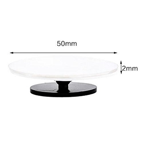 Itian 360 Degree Rotating Side Blind Spot Mirror HD Adjustable Rearview Mirror Blind Spot Mirror For Car And Motorbike One Pair