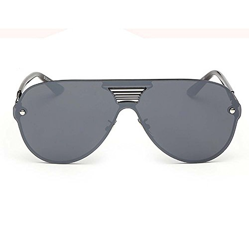 LOMOL Fashion Trendy Metal Frame Reflective Lens UV Protection Personality - Where Persol To Buy