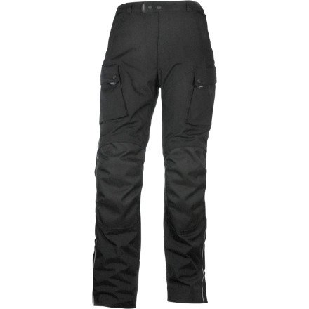Olympia Moto Sports MP204 Men's Ranger Pants (Black, Size 38)