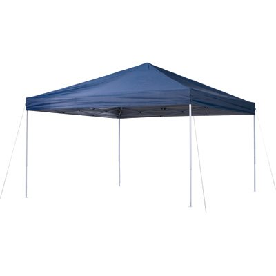 Ironton Pop-Up Outdoor Canopy Tent - 12ft. x 12ft., Open Top, Straight Leg, Blue by Ironton