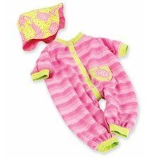 Pink Turtle Onesie and Hat by Lee Middleton #2705 by Lee (Lee Middleton Newborn Doll Clothing)