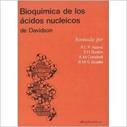 Bioquímica De Los áCidos Nucleicos De Davidson., ..: VARIOS ...