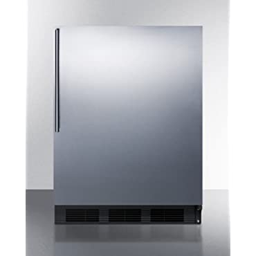 Summit FF7BSSHV 24' Commercially Approved Energy Star Rated Compact Refrigerator
