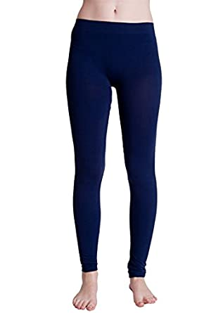 Ladies Navy Blue Leggings