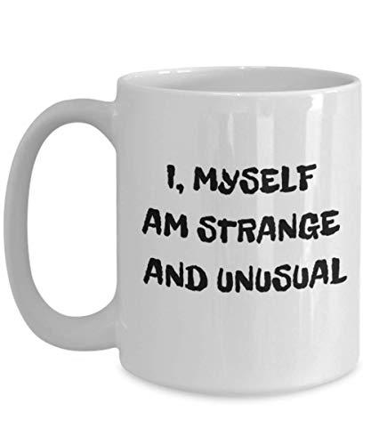 Beetlejuice- I, Myself am Strange and Unusual- Lydia Deetz- Halloween Coffee -