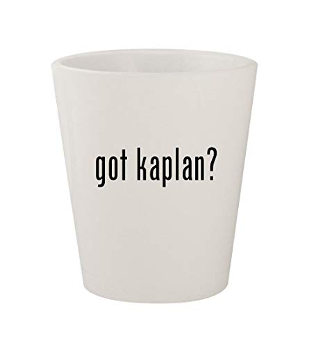 got kaplan? - Ceramic White 1.5oz Shot Glass