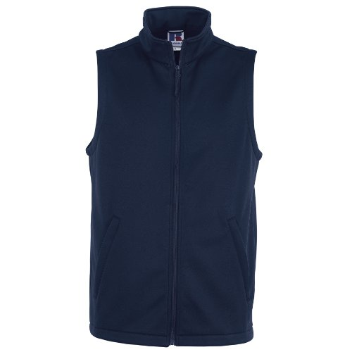 Russell Mens Smart Softshell Gilet Jacket (XS) (French (Mens Soft Shell Traditional Jacket)