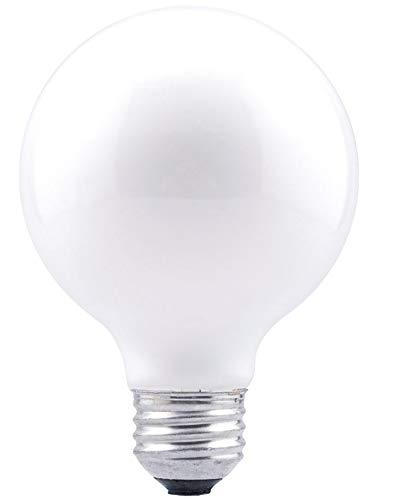 SYLVANIA General Lighting 16144 Sylvania DOUBLELife G25 Light Bulb, 24 Pack, 2850K,