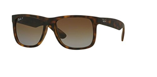 Ray Ban RB4165 865/T5 55M Havana Rubber/Polarized Brown - Ray Justin Ban Classic