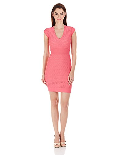 9a80e46253 French Connection Women s Miami Dani Cap-Sleeve V-Neck Dress - Buy ...