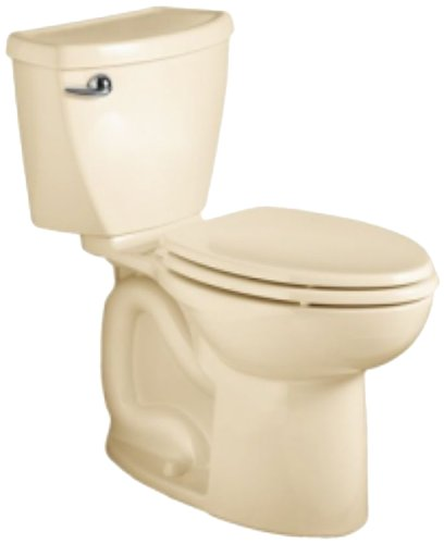 det 3 Elongated Flowise Two-Piece High Efficiency Toilet with 10-Inch Rough-In, Bone Bone (Cadet 3 Flowise Tank)