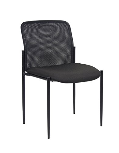 Boss Office Products B6919 Mesh Guest Chair in Black