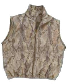 Natural Gear Camo Fleece Hunting Vest for Men and Women, Hunting Gear for Elk, Duck, Deer, or Hog Hunting, Women's and Men's Full-Zip Camo Vest (XX-Large) by Natural Gear