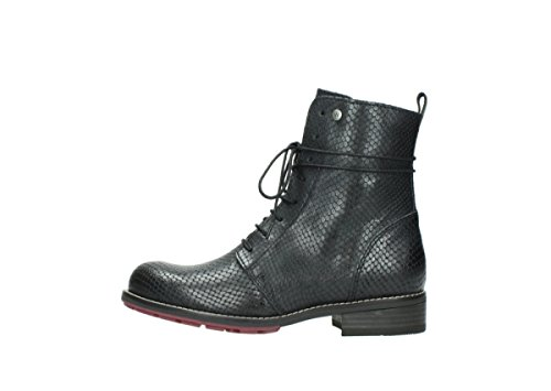 30000 Murray 36 Black Wolky up Leather Boots Lace Comfort wSnqPpX