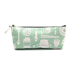 Cotton And Linen Life Bag Simple Student Stationery Bag-Tableware Stationery bag