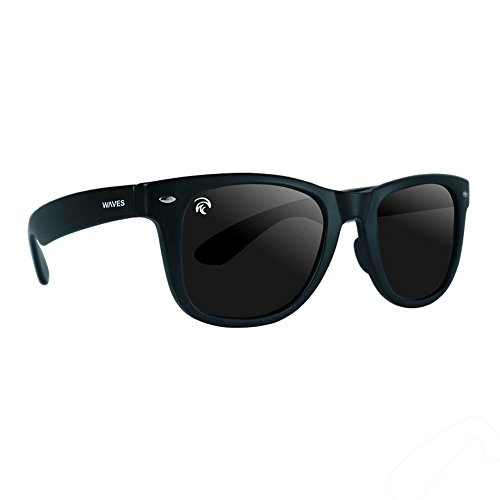 Waves Gear Floating Polarized Sunglasses, Unsinkable - Floating Fishing Sunglasses Polarized