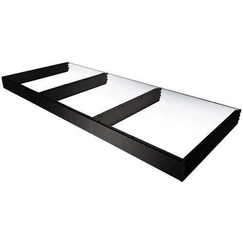 Vantage Point Shelving (Vantage Point E322D-B Double Attachment Shelf for Evo System ES Series  - Black)