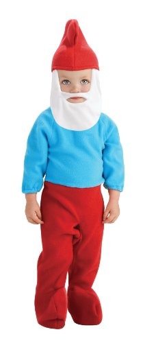 Rubie's Costume The Smurfs 2 Papa Smurf Romper and Headpiece, Red/Blue, Toddler -