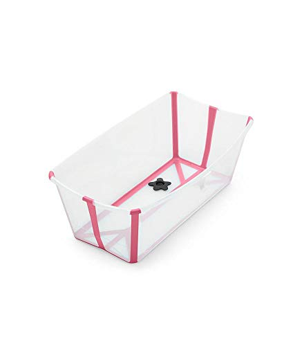 Stokke - Bañera para Bebe Tina Stokke Flexibath MSI 4 Colores nuevos - Rosa