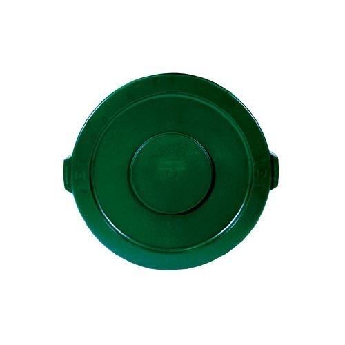 Rubbermaid FG263100DGRN Brute Green Lid for 2632 Container