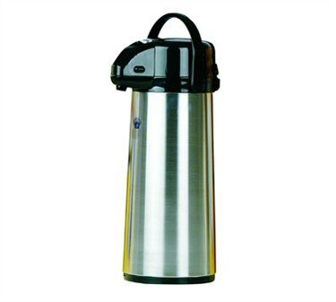 Johnson Rose Stainless Steel Vacuum Air Pot with Glass Liner, 2.2 Liter -- 1 each.