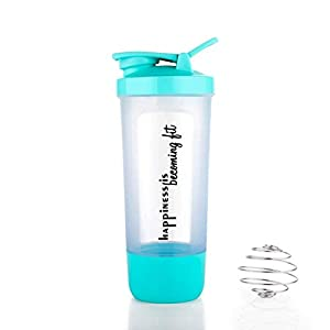 Elexiq Gym Shaker Bottle, Shaker Bottles for Protein Shake 100% Leak Proof Guarantee Protein Shaker/Sipper Bottle, Ideal…