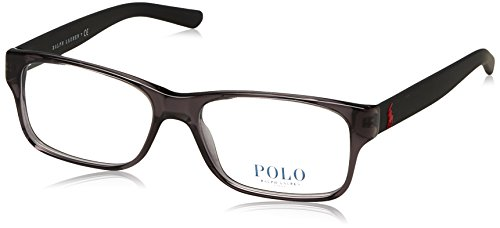 Polo Men's PH2117 Eyeglasses Crystal Grey ()