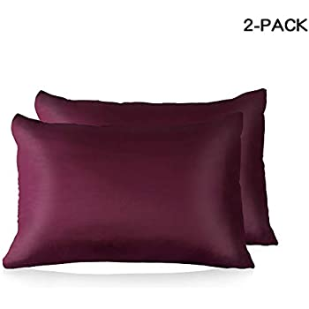 Amazon Com Silk Pillowcase For Hair And Skin 2 Pack Gift