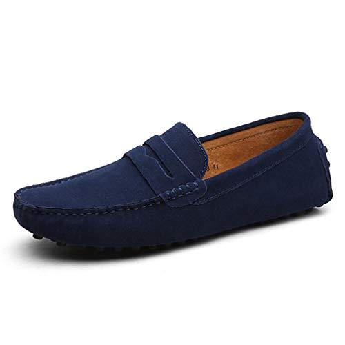 diario Zapatos De En Hombre Barcos Ante Yan Para Zapatillas Piel Caminar zapatos Casuales Mocasines Casual Conducción Un Planos 4R7RcrFnwW