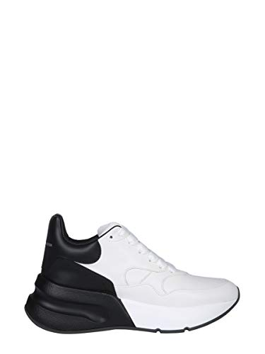 Alexander McQueen Women's 533709Whru39034 White Leather Sneakers