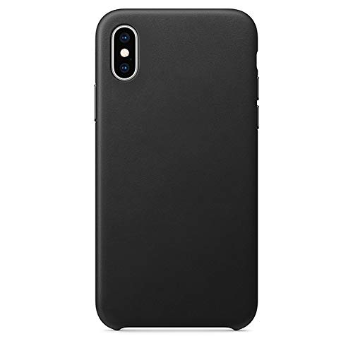 - JPJ(TM) New❤️iPhone Case ❤️1pcs Hot Fashion Leatherback Case Luxury Cover for Apple iPhone Xs Max (Black)