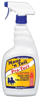 Mane N Tail Pro-Tect Wound Spray For Horses by Straight Arrow Products Inc