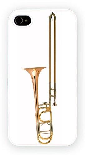 Trombone, iPhone 4 4S, Etui de téléphone mobile - encre brillant impression