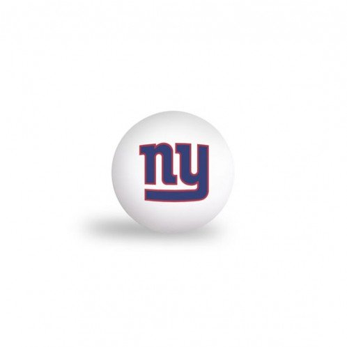 NEW YORK GIANTS PING PONG BALLS - 6 PACK by WSE