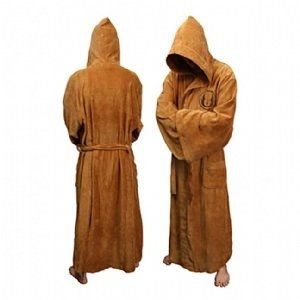 Star Wars Jedi Hooded Bath Unisex Robe - One Size Fits All