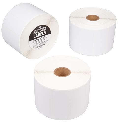 2000 Printer - Thermal Label Printer Roll - 6000 (1