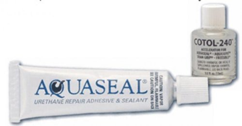 M Essentials Aquaseal Urethane Repair Adhesive and Cotol 240 Cure Accelerator