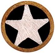Texas Knifemakers Supply 3 16 Diameter Brass Star Mosaic Pins 11-3 4 Long