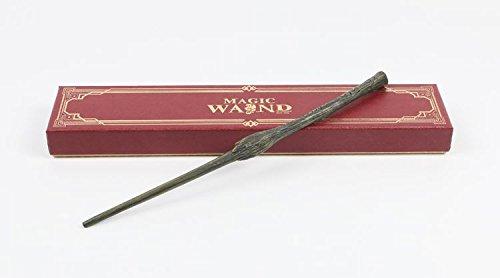 Cultured Customs Magical Wand Replicas - Steel Core Cosplay Prop Collectible Free Bonus Collectible Trading Card (Bellatrix Lestrange)