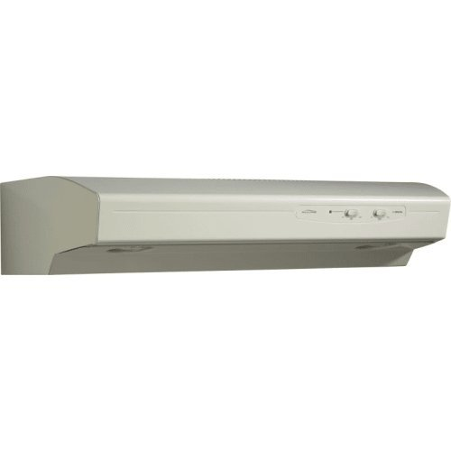 Broan QS142BC QS1 Series Under-Cabinet Range Hood, 42-Inch 220 CFM, Bisque-on-Bisque