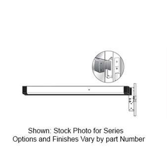 Electric Latch Device - Adams Rite 8801EL-36-12 Electric Latch Retraction Rim Exit Device 12VDC