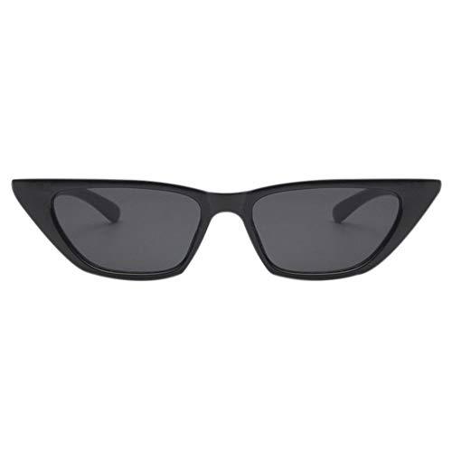 Spectacle Couleur Soleil Ansemen Gris Sun Eye Lentille Lunettes de Lunettes noir Décoration Cadre Cat Classic Lightweight Retro CqPw8U