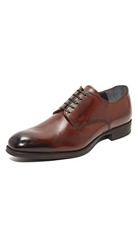 To Boot New York Men's Buchanan Plain Toe Derbies, Brown, 8 D(M) US