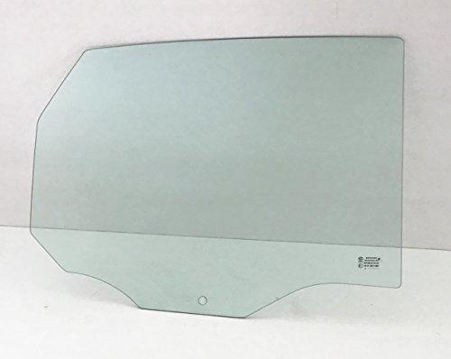 NAGD for 2000-2007 Ford Focus 4 Door Sedan & Hatchback Passenger/Right Side Rear Door Window Replacement Glass ()