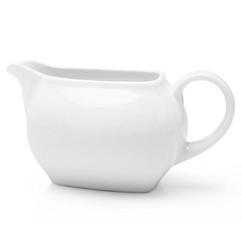 Bia Cordon Bleu 20oz White Porcelain Gravy Boat - Microwave Safe