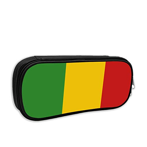 SARA NELL Pen Bag Pouch Reggae Rasta Flag Pencil Case Stationary Case Makeup Cosmetic Bag for Student Boys ()